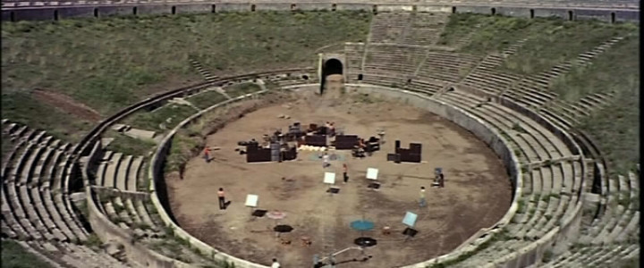 Pink Floyd: Live at Pompeii video