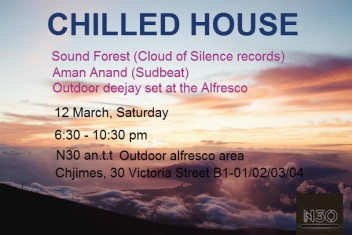 Sound Forest + Aman Anand at N 30, Chjimes, Chilled House Beats, April 12, 2016